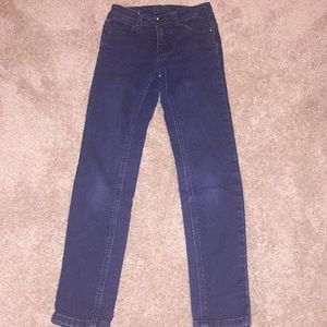 Girls Justice SZ 8 Super Skinny Jeans
